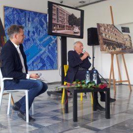 Spotkanie z autorami książek o Opolu Andrzejem Hamadą oraz Jakubem Przebindowskim